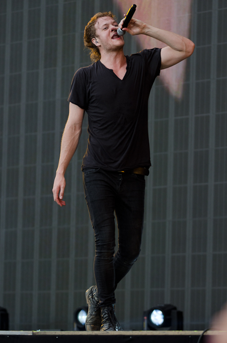 Dan Reynolds of Imagine Dragons.